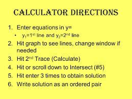 6 calculator directions