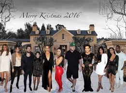 For The Third Year Running… Here's OUR Kardashian Christmas Card ...
