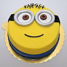 Minion For You Cake 1kg Vanilla Gift Minion Cute Cartoon Cake For