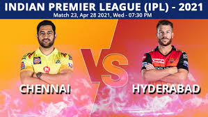 Chennai super kings will look to extend their winning run in ipl 2021 as they take on sunrisers hyderabad in delhi on wednesday. Swzrg567 0m6jm
