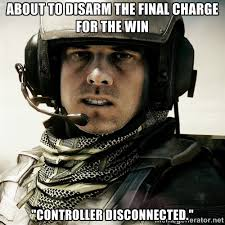 "about to disarm the final charge for the win ""controller ... via Relatably.com"