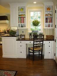 home office in kitchen. Kathleen Burke Design Traditional Home Office In Kitchen