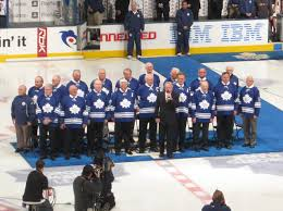 maple leafs honour 67 squad also win