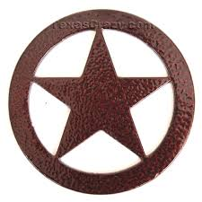 Texas Gift Lone Star Paperweight