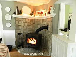 i like this wood stove arrangement and wood stoves are more eco and efficient than