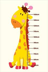 Baby Giraffe Growth Chart
