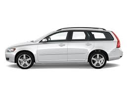 Image: 2011 Volvo V50 4-door Wagon Side Exterior View, size: 1024 ...