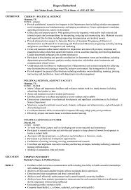 Political Resume Examples Political Science Resume Samples Velvet Jobs 13