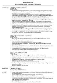 Political Science Resume Political Science Resume Samples Velvet Jobs 1