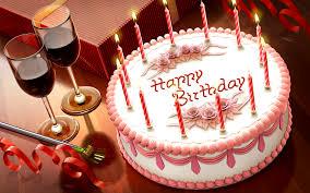 happy birthday gift cake hd wallpaper