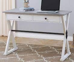 stratford farmhouse 2 tone desk big