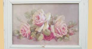 marketplace shabby chic pink roses framed art on chic wall art ideas with 19 decorative shabby chic wall art ideas home art decor 59880