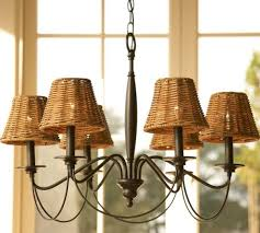 chandelier lamp shades popular of design for wicker ideas rattan shade creativity home lighting 600x540 chandelier lamp shades 5 black