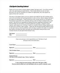 Executive Coaching Agreement Template The Best Of Contract Examples ...