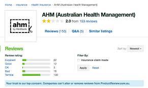 ahm health insurance review