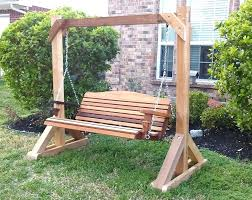 wooden swing stand photo 4 of 9 outdoor wood porch ideas selecting best swings with marvelous wooden swing stand garden bench hammock porch