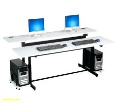 multi level computer desk s ple ergonomic multi level computer desk