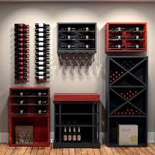 wine cellar furniture. Show-Off Wine Collector Cellar Furniture
