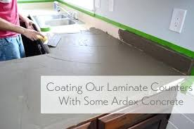 update laminate countertops best way to change trying our hand at concrete counters