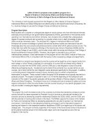 Sample Letter Of Intent For Grad School Admission Andrian James Blog