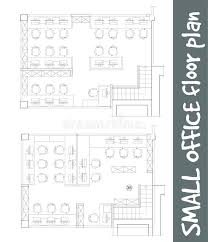 floor plan office furniture symbols. Download Standard Office Furniture Symbols On Floor Plans Stock Vector - Illustration Of Icon, Plan