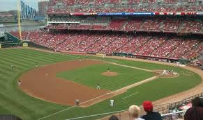 Great American Ball Park Section 414 Home Of Cincinnati Reds