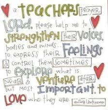 Teacher Prayer on Pinterest   Teacher Quotes, Kindergarten Teacher ... via Relatably.com
