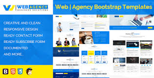 Bootstrap Website Web Agency Html Bootstrap Template
