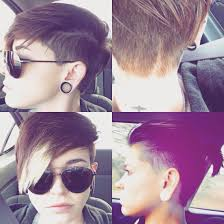 Pin By Leila Chow On Hair Androgynous Hair Thin Hair Haircuts