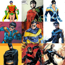 The Many Looks of Dick Grayson : Nightwing