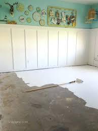 Cement Bedroom Floor Painted Concrete Floors In Our Basement Bedroom