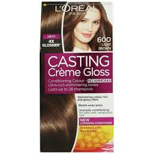 Casting Creme Gloss 600 Light Brown Reviews D44 Loreal Paris Healthy Look Creme Gloss Color Casting
