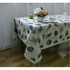 washable dinner picnic table cloth pillow cover home decoration size inch round tablecloths white cotton tablecloth