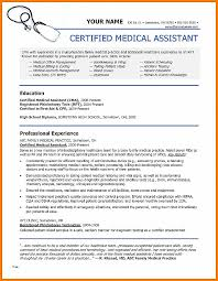 Resume Examples For Medical Assistant Enchanting Resume Beautiful Free Medical Assistant Resume Template Free