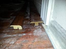 transition laminate floor transitions doorway