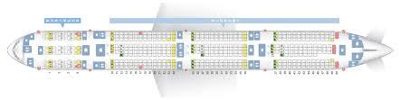 Seat Map Boeing 777 300 Qatar Airways Best Seats In The Plane