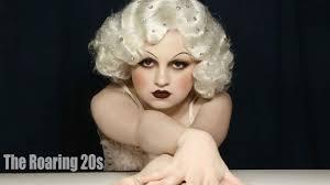 jean harlow inspired 1920 s makeup tutorial