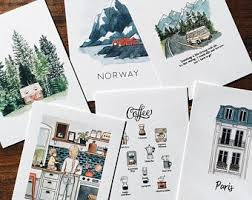 <b>Mini postcards</b> | Etsy