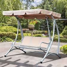 outside swing chair. A Imagem Está Carregando 3-Person-Steel-Outdoor-Patio-Porch-Swing-Chair- Outside Swing Chair N