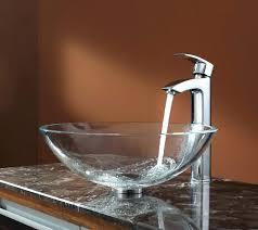 clear vessel sink. Simple Clear Clear Vessel Sinks Crystal Sink Glass In  With Faucet Inside Clear Vessel Sink O
