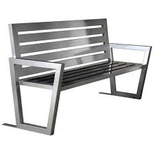 stainless steel benches. Stainless Steel Park Bench Benches L