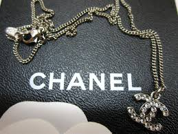 chanel logo necklace. thread: classic chanel cc logo necklace