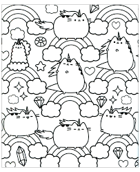 Kawaii coloring creations is a compilations of some amazing artist drawing kawaii style art. Kawaii To Download Kawaii Kids Coloring Pages