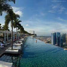 Wallpaper Marina Bay Sands infinity pool pool hotel travel
