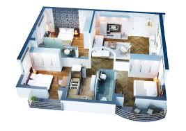 ... Recommendations Low Budget Modern 3 Bedroom House Design Elegant 3  Bedroom Apartment House Plans And Modern ...