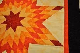 That Forthright Girl: Orange Lone Star Quilt & Orange Lone Star Quilt Adamdwight.com