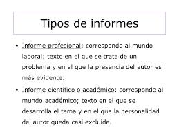 Informe Profesional El Informe Lic Patricia Nigro Ppt Video Online Descargar