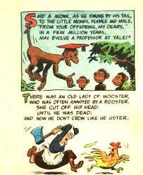 joke page from funny li l joke book volume 28 of 44 looney limericks