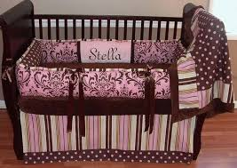 pink and green crib bedding pink and brown baby bedding sets pink green and yellow crib