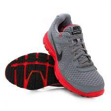 nike running shoes for boys. nike boys lunar forever - running shoes grey/red for e